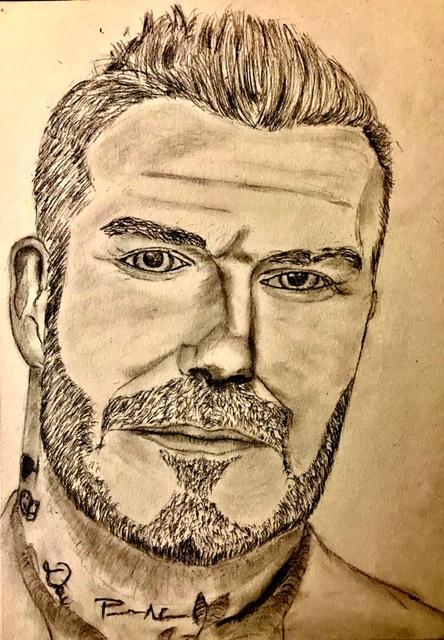 David Beckham by Dakopp